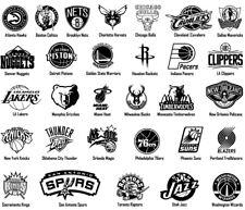 NBA Vinyl Decal Sticker Sport Basketball Team Logos Window Design Art USA Seller