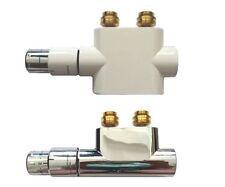 Mittelanschlussblock, Multiblock, Anschlussgarnitur, Mittelanschluss Thermostat