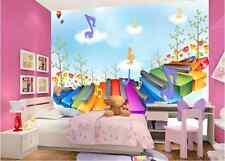 3D Wunderbare Musik 989  Fototapeten Wandbild Fototapete BildTapete Familie