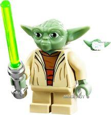 LEGO STAR WARS - WHITE HAIR YODA FIGURE + LIGHTSABER & GIFT - 75002 - 2013 - NEW