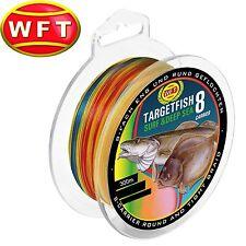 JE 25m WFT Angelschnur geflochten KG Strong Orange 39Kg 0,25 0,18EUR//m