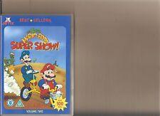 SUPER MARIO BROTHERS SUPER SHOW VOLUME 2 DVD RETRO 80S CARTOON BROS