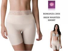 HIGH WAISTED SHORT. SEAMLESS SHORT, BUTT LIFTER FROM COLOMBIA.  ROMANZA - 2054