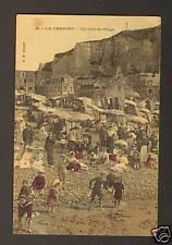 LE TREPORT (76) JEUX ENFANTS de PLAGES & VILLAS en 1907