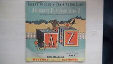 "Mercury Miniature Playhouse 2-Record Set ALPHABET FUN from A to Z 10"" 78rpm"