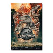 Jurassic World Fallen Kingdom Movie Art Canvas Poster 12x18 24x36 inch