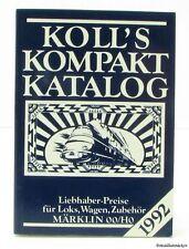 Koll's Kompakt Katalog 1992 Märklin 00/H0