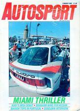 Autosport Magazine March 9 1989