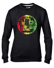 Dub Culture Reggae Women's Sweatshirt Jumper - Bob Marley Rasta