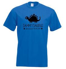 Personalised Dinosaur Kids T Shirt Any Name Girls Boys Birthday Gift Jurassic