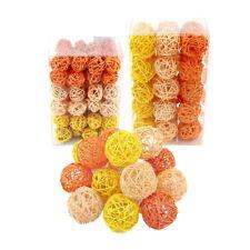 Boules de rotin orange/jaune/APRICO gamme, rotin boules