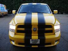 "RAM Dodge 10"" Racing Vinyl Stripes Graphic Decal Sticker & 1/2"" Pinstripe 40'"