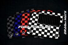 DRAGintMATS JDM Checkered Floor Mats Ford Focus RS Karo Performance LHD ECO OEM