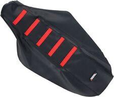 Moose Racing Ribbed Seat Cover Black Red Honda CR 80 125 250 CRF 250R 250X 450R