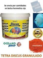 TETRA DISCUS En Cantidades Comida DISCOS GRANULADO granulo 100 250 500 1000 ml