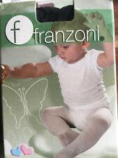 Babystrumpfhosen 40den blickdicht, Franzoni,Komfortzwickel,rosa,blau,champagner