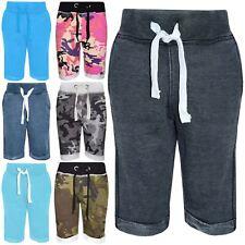 Kids Boys Shorts Designer Fleece Chino Short Knee Length Half Pant New Age 3-14Y