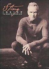 STING - INSIDE - SONGS OF SACRED LOVE rare Music dvd 17 songs videos 2003