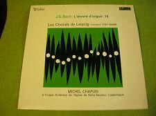 LP  J S BACH- Orgue 14- Michel CHAPUIS - Valois MB 854
