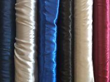 Raso 1m Stoffa Tessuti lucido diversi colori Matrimonio Tessuto decorativo