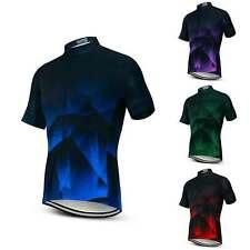 Men's Cycling Jersey Bike Short Sleeve Bicycle MTB Clothing Sport Shirt Tops