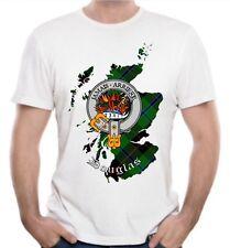 Douglas Clan T-Shirt - Scottish Heritage Clothing - Scotland Cotton Tee
