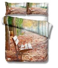 Fixed Seat Quiet 3D Quilt Duvet Doona Cover Set Single Double Queen King Print