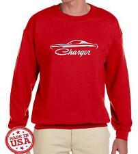 1971 1972 Dodge Charger Classic Outline Design Sweatshirt NEW