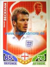 Match Attax World Stars - David Beckham - England