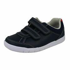 Boys Clarks Emery Sky Casual Shoes