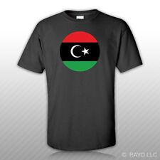 Libyan Air Force Roundel T-Shirt Tee Shirt Free Sticker Libya LBY LY