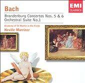 Bach: Brandenburg Concertos Nos. 5 & 6; Orchestral Suite No. 1 (CD, 2004, EMI)