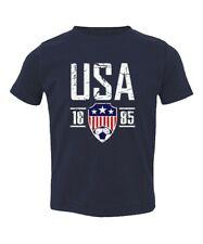 Vintage USA Soccer Kids Toddler T-Shirt