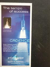 5/2007 PUB ARIANESPACE ARIANE 5 SPACE CARRIER FUSEE RAKETE ROCKET ORIGINAL AD