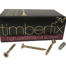 9g 4.5mm x 50mm PREMIUM CHIPBOARD PLY WOOD TIMBER SCREWS POZI CSK TIMBERFIX 360
