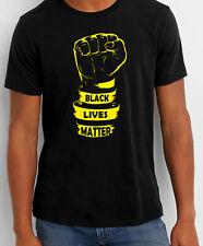 Black Lives Matter FIST T-Shirt Protest Resist Justice Peace