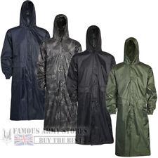 Linea Uomo Impermeabili Lunghi Pioggia Giacca Cappotto Kagoul Wet lavoro Esercito Militare Pesca MAC