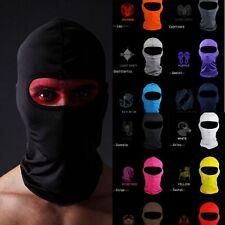 Full Face Mask lycra Balaclava Ultra Motorcycle Cycling Ski Neck Protecting AME