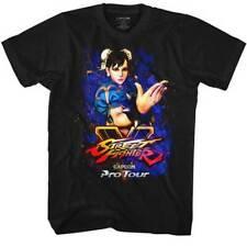 Street Fighter Capcom Video Game Pro Tour Chun Li Adult T Shirt