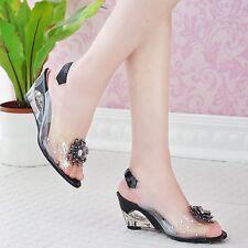 Sandalias de Vestir Casuales Elegantes Plataforma de Mujer Verano Moda Nuevos