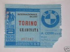 INTER - TORINO BIGLIETTO TICKET 1978 / 79