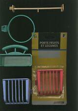 Lot 5 accessoires pour cage oiseaux - mangeoires perchoirs presentoirs /
