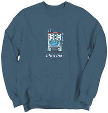 Life Is Crap Slot Machine Good Life Funny Shirts Gift Ideas Sweatshirt