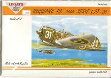 Legato  Reggiane  RE-2000 Serie 1./J-20   1/72   Kit No. 72001