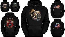 Country Usa Kapuzensweater - Hoodie Indianer / Western / Country Kapuzenpulli