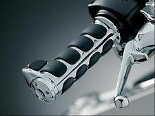 HARLEY DAVIDSON Premium ISO Grips w/ Boss (Dual Cable Throttle) (KURYAKYN 6212)