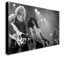Guns N Roses-Live-Slash-Duff - Axl LONA pared arte impresión. varios Tamaños