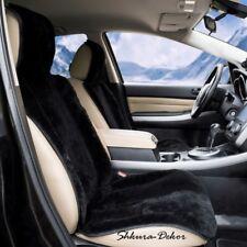 TWO CAR SEAT COVER| 100% Genuine Siberian Sheepskin |56×20 inches| Black, White