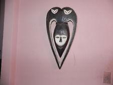 """Arts of Africa - Kwele Mask - Gabon - 24""""HX12""""WX2"""" Dia"""