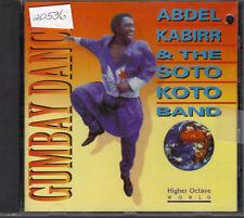 Gumbay Dance Abdel Kabirr & The Soto Koto Band CD 1991